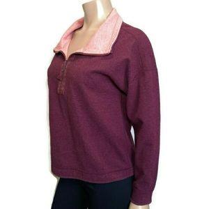 TOMMY BAHAMA Reversible 1/4 Zip Sweater Contrast